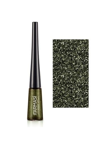 Farmasi Glitter Eyeliner Iridescent Green 04-4,5Gr Kahve